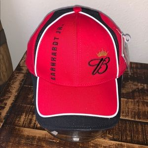 NWT Chaser Authentic red Earnhardt Jr. racing hat